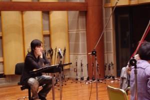 土屋洋一 音響ハウス第一スタジオにて