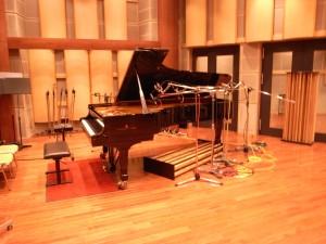 2日間お疲れさまスタインウェイピアノ