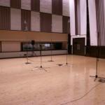 最初のサラウンド作品の録音が終わった後で