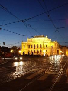 ドヴォルザーク・ホールがあるルドルフィヌム in チェコ