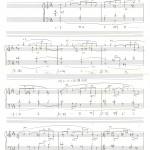 東京芸術大学作曲科第一次試験 和声 過去問題Sop.課題実施例