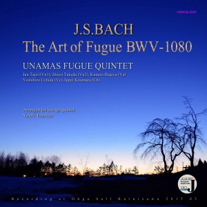 J.S.BACH The ART of FUGUE BWV-1080フーガの技法